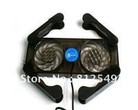Portable and folding  PC laptop radiator fan.needs only 1.6USD per piece and power only 1w