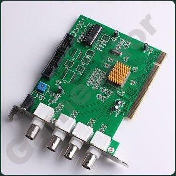 4 Channels CCTV DVR Security PCI Capture Card