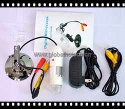 portable 400X TV microscope - factory offer, best quality TV microscope(China (Mainland))