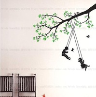 Swing Home room Decor Removable Wall Sticker/Decal/Decoration