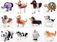 Mixed designs Free shipping 90pcs/lot walking pet balloon walking balloon classic toys