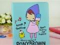 PonyBrown Случае для iPad 2/3 Кожаный Футляр Мультфильм Дизайн Стенда Дело на Новое iPad, 30078