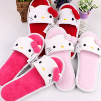 Hello kitty slippers lovely home slippers lovely home slippers pink/rose/red