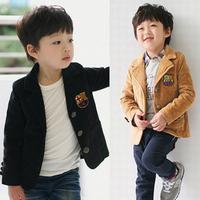 Children's clothing autumn  blazer child suit preppy style male child suit formal dress outerwear a-wt83