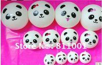 Hot sale! Kawaii Squishy Panda Dim Sum Bun, Squishies Cell Phone Straps, Squishy Bag Charm Gift  4cm 20pcs/lot