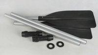 Free shipping High strength 122cm Alum-alloy oarage ,makeup atwain leaf length 188cm
