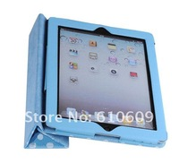 high quality Dot Wavepoint Leather Case Stand Holder for ipad2 3