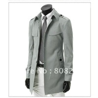 Hot sale 2013 new spring slim trench coat for men high quality jackets for men M/L/XL/XXL