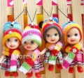 Free Shipping 100% New Fashion Soft doll 50Pcs/Lot  Baby Doll set Toys Gift Cell Phone Pendant&Key Chain JG012