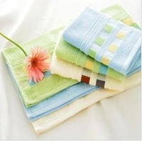 Free Shipping by EMS!Factory Supply Wholesale 5pcs/Lot 34x76CM 100% Cotton Softness Sweat-absorbent Hand Towel, Cotton Towel