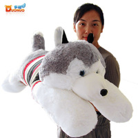 Plush toy Large husky dog doll pillow cloth doll gift