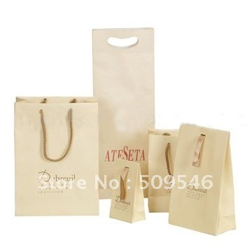 Custom Paper Shopping Bags with Logo