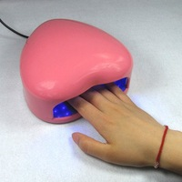 Free Shipping, 220V~240V 50HZ LED-8 LED Light, Nail Art LED Lamp, LED Nail Curing Lamp