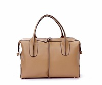 fashion 2012 new Hot sell from factory guarantee 100% genuine leather lady fashion handbag shoulder bags brand