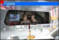 Free shipping hot sales new arrival  rearview mirror Car Camera HD 1280x720P Car DVR Video camera