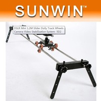 DSLR Mini 1.2M Slider Dolly Track Wheels Camera Video Stabilization System 5D2