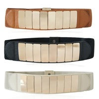 2012 New fashion lady's Elastic mirror belt cummerbun belt/girdle 3designs  6cm*70cm*2cm customized (MOQ:50PCS) free shipping