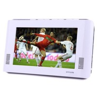 7.0 inch TFT Portable DVB-T LCD TV and Built-in Rechargeable Battery, Support SD/MMC Card