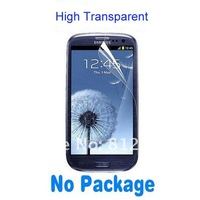 500pcs/lot High Quality For Samsung Galaxy Siii S3 i9300 Screen Protector  Screen Protector Free Shipping