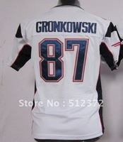 Free Shipping!!! 2012 new style #87 Rob Gronkowski Youth Kids jersey white