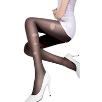 wholesale 10pcs/lot LANGSHA wire socks women's quality velvet random ultra-thin pantyhose