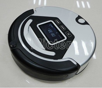 "mop robot/robot sweeper/auto cleaner, 4 in 1, pre-set function, 3"" LCD display. UV lamp, wet/dry, self-charging,1500mA battery"