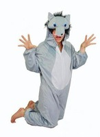Wholesale Animal Wolf Performance Clothing Cosplay Halloween Party Costumes S,M,L,XL 5 Sets/Lot