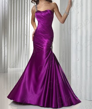 Shoulder Cocktail Dress on Gowns One Shoulder Dress Evening Ball Cocktail Party Dresses Lf060