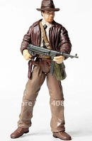 Hasbro original Indiana Jones 3.75 inch figures the gun Free Shipping