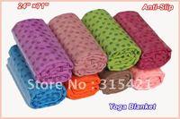 100pcs/lot  First class quality Yoga Blankets 180cm Extended yoga towel, yoga mat