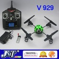 F02413-12 12Units WLtoys 4CH 2.4Ghz 3D V929 RC 4 axis UFO X-copter Quadcopter Ladybird with LCD Display TX,V911 Upgrade+Freeship