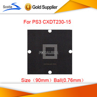 Freeshipping 2 pcs/lot for PS3 CXDT203-15 BGA Reballing Stencil Template 90*90m use 0.76mm Solder Ball
