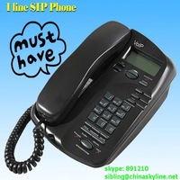 1 line voip phone EP636 free shipping