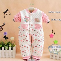 Hot selling Free shipping 3pcs/lot children bodysuit romper baby jumpsuit infant romper/kids clothing