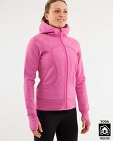 wholesale lululemon Scuba Hoodie PINK color size 2,4  China Air Post ship