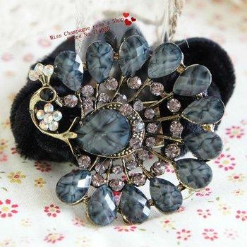 100pcs/lot.Gem diamond rhinestone flowers headbands/Hairband/Hair accessories/Headwear.hair acessories for women.T1110WA01M05100