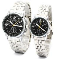 Zgo quartz watch fashion lovers table popular fashion watch steel strip spermatagonial watch 8442