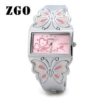 Kimio quartz watch fashion bracelet watch butterfly rhinestone watch steel ladies watch 461