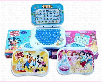 Best selling!! Xmas gift laptop computer kids Chinese/English Learning Machine Mini Learning Toys Free shipping,1pcs