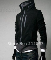 2012 Free Shipping high quality fashion men 's sweater new sweater jacket