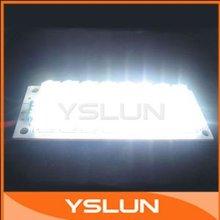 5 PCS/LOT 12V 24 Piranha Board LED Light White LED Panel Lighting #080050(China (Mainland))
