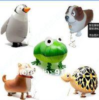 New Arrival free shipping 20pcs/lot,assortment design,walking pet balloon,walking balloon animals,panda walking balloon