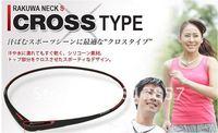 100pcs DHL free shipping TItanium cross type necklace  6  colors health pendant