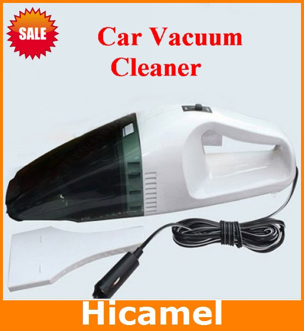 New Mini Portable Handheld High-Power Car Vacuum Cleaner Dust Collector Dry and Wet Auto Clean 60W 12V Wholesale C301