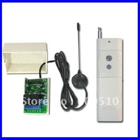 2000M 2 Channels 315/433MHz DC 9V/12V/24V Wireless Remote Switch - Transmitter & Receiver - Toggle Control Mode