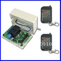 2 Channels 315/433MHz DC 9V/12V/24V Wireless Remote Switch - Transmitter & Receiver - Toggle Control Mode