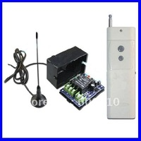 2000M 10A 1 CH 315/433MHz DC12V RF Wireless Remote Control Switch, Radio Controller, Transmitter & Receiver