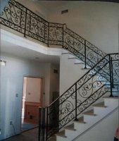 Wrought iron indoor stair railings  ETN R064