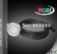 Exterior RGB LED Garden Lighting LED Decking Kit: 20pcs Lights&1pc 30W LED driver&1pc RGB Controller & 10pcs 1M Extension Cable