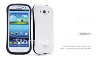 Free shipping Anti-Shock Urethane Case Cover for Samsung Galaxy III S3 i9300